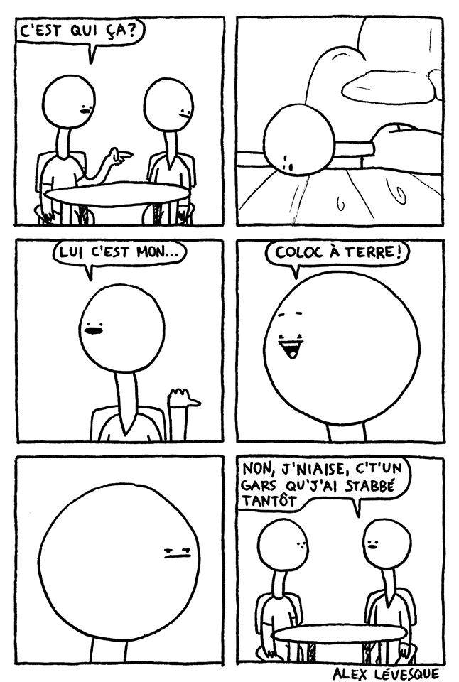 Colocataire