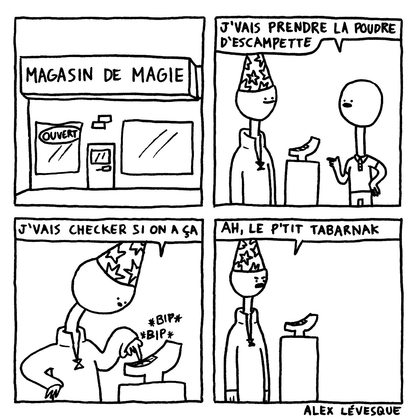 Magasin de magie