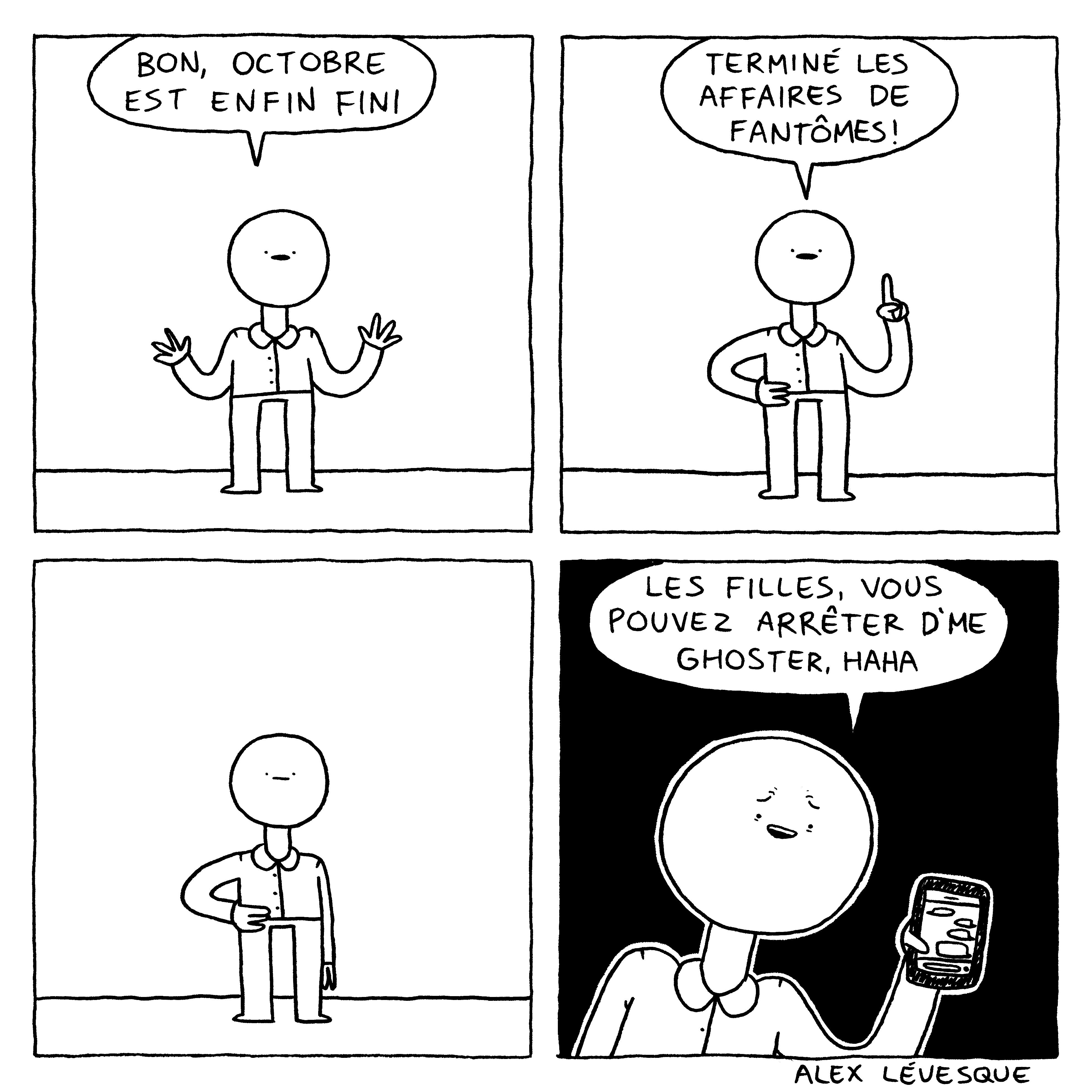 Octobre est fini