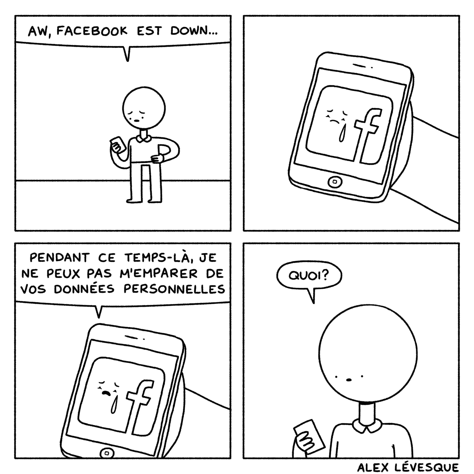 Facebook est down